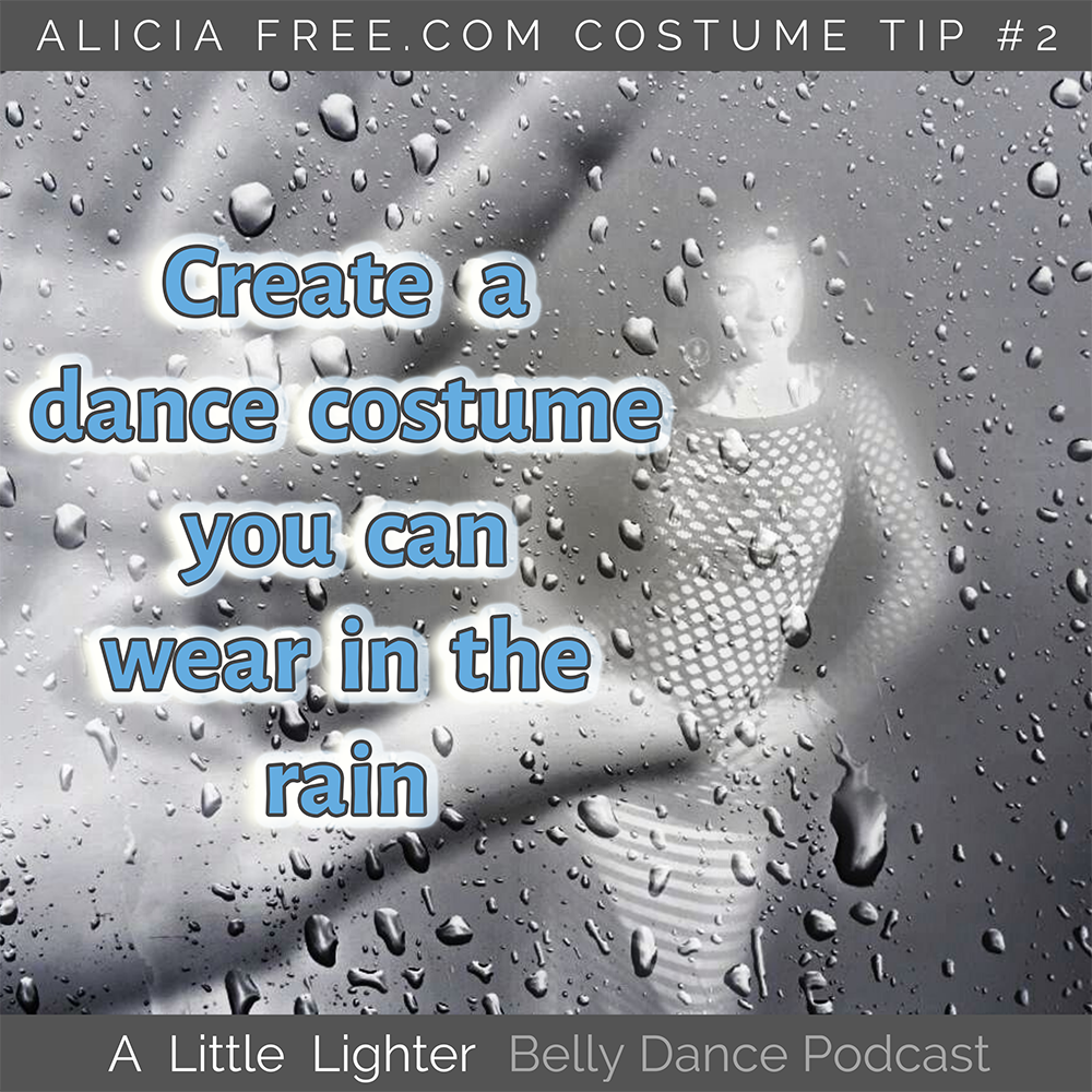 Belly Dance Podcast 002 Costume Tip