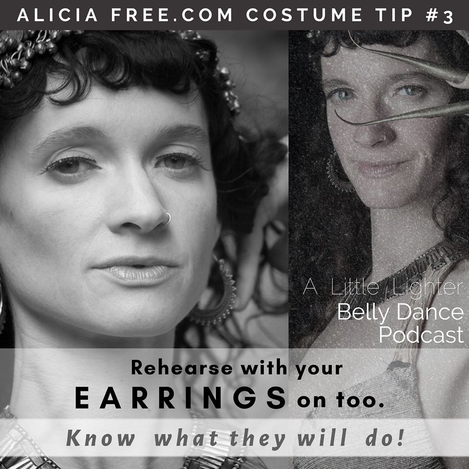 Belly Dance Podcast 003 Costume Tip