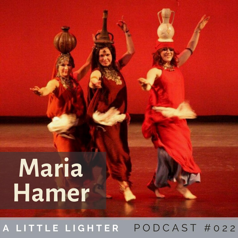 Belly Dance Podcast maria hamer
