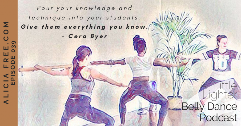 Belly Dance Podcast 038 Quote