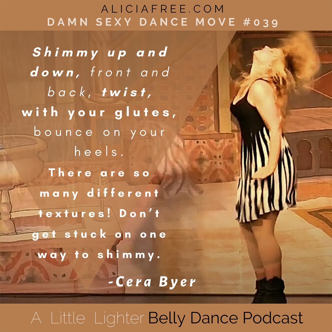 Belly Dance Podcast 039 Dance Move