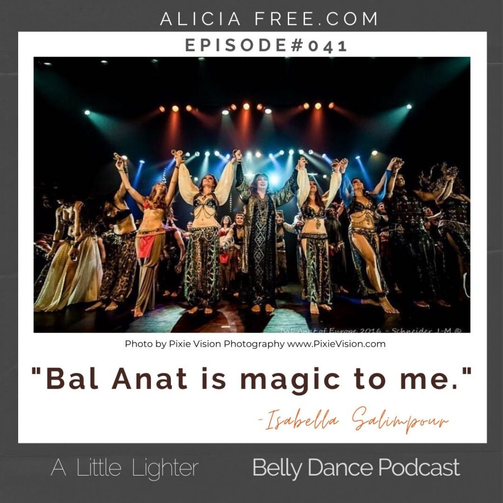 Belly Dance Podcast 041 Quote Bal Anat