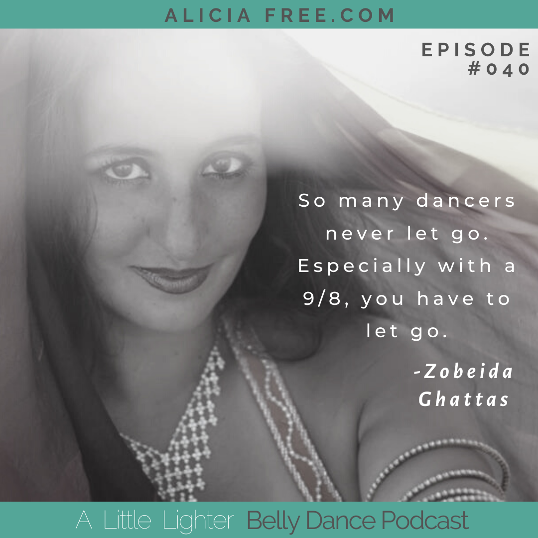 Belly Dance Podcast 040 Quote