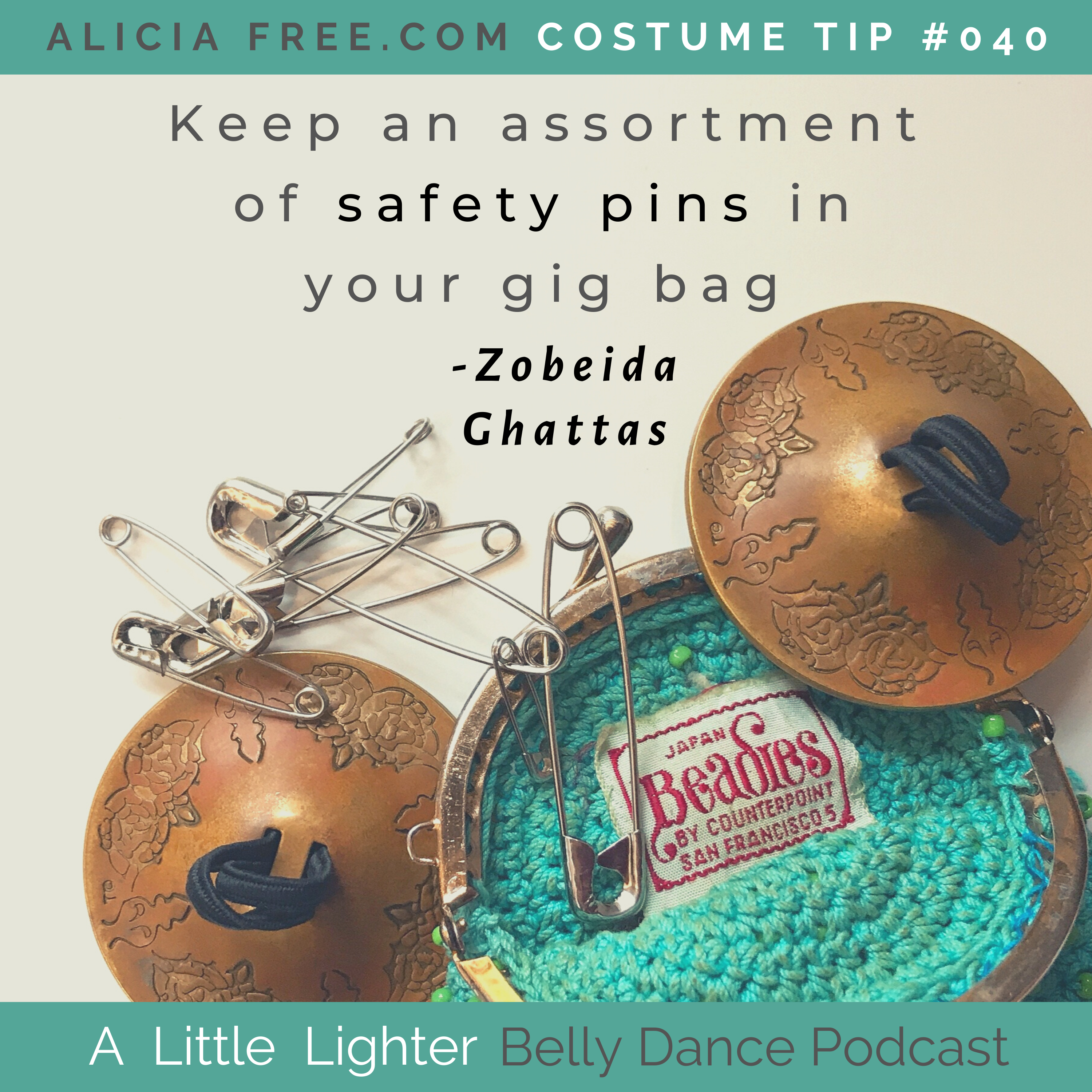 Belly Dance Podcast 040 Costume Tip
