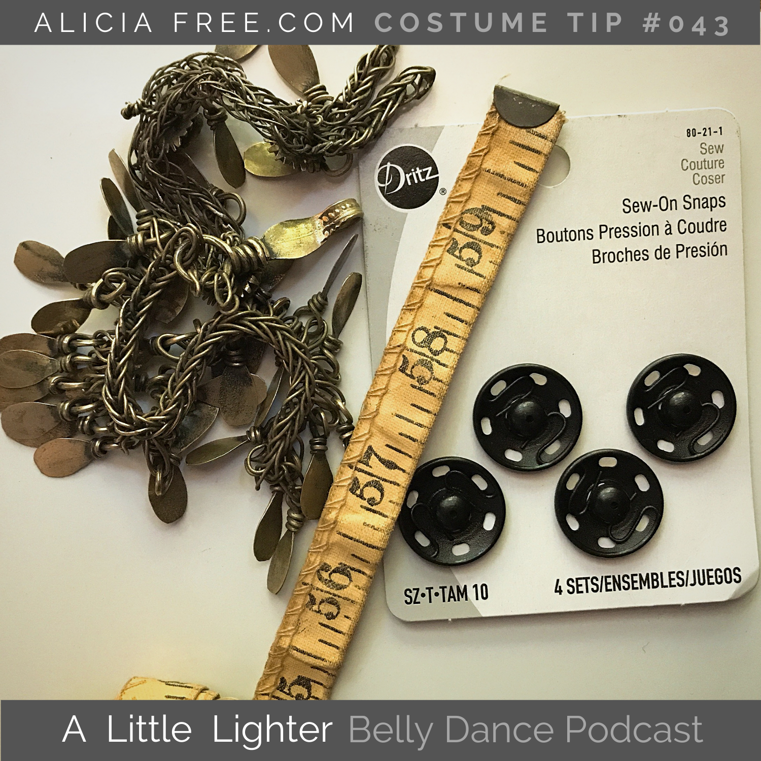 Belly Dance Podcast 043 Costume Tip