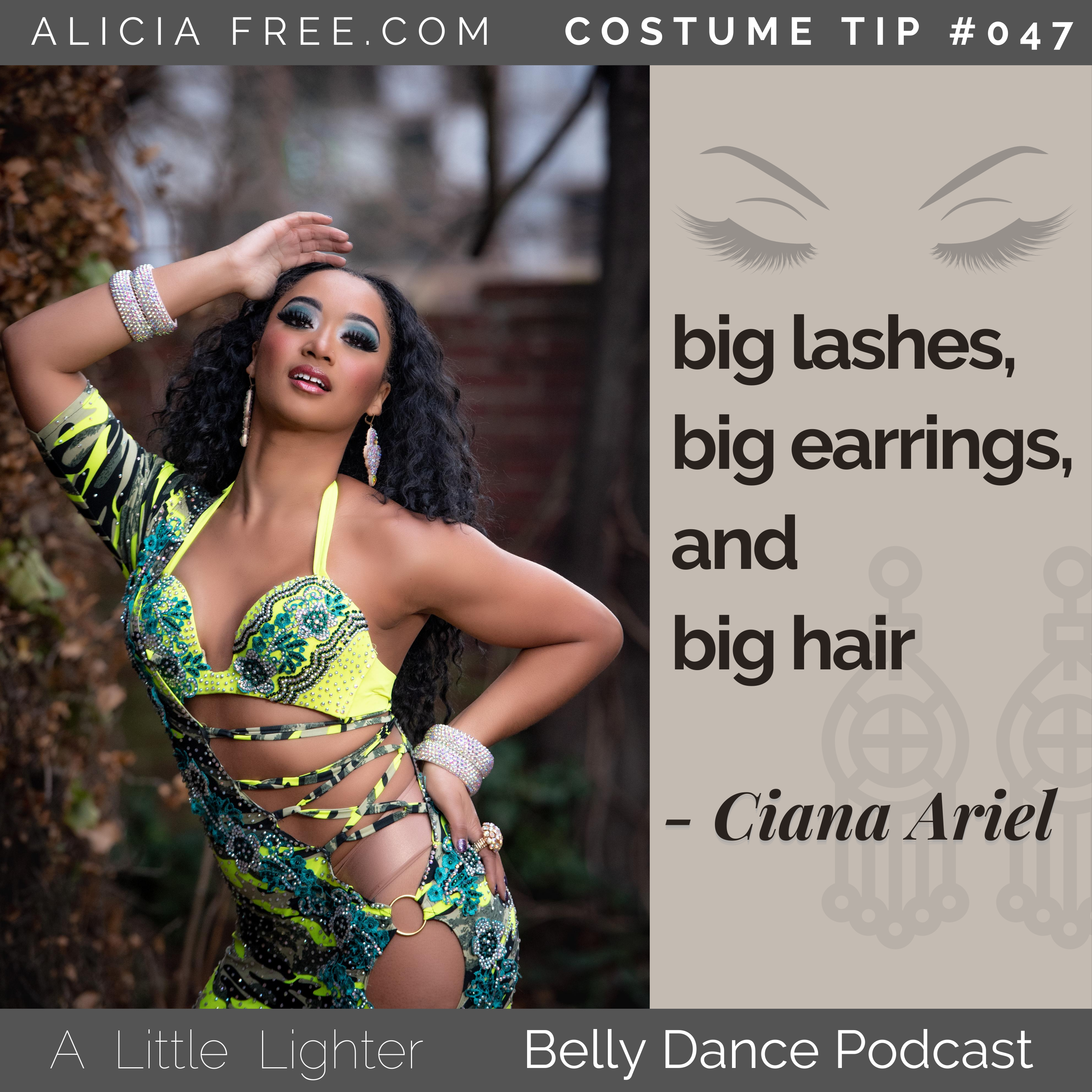 Belly Dance Podcast 047 Costume Tip