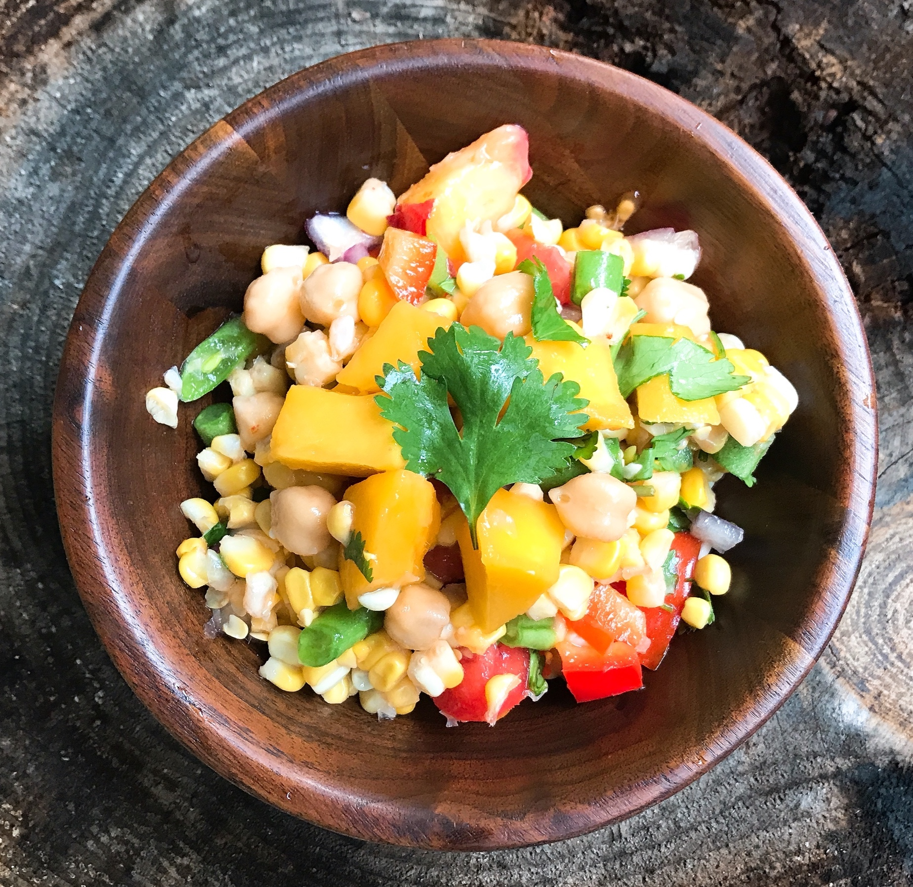 Sweet-corn-mango-lime-salad