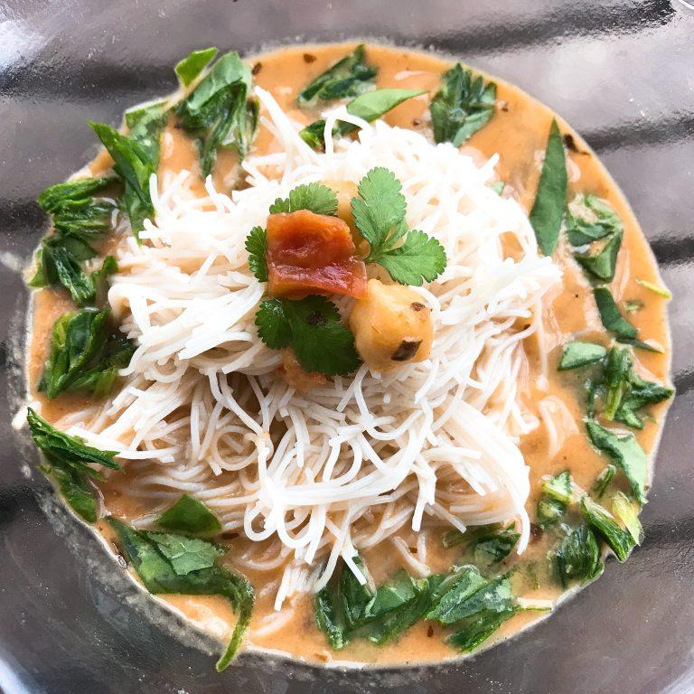 Carolena Nereccio coconut milk soup